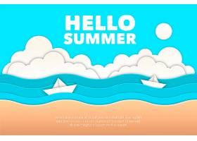 夏季纸质墙纸_8286912