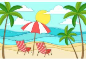 夏季纸质墙纸_8509410