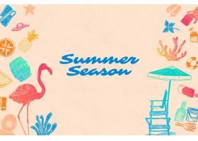 夏季背景_4119972