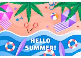 夏季背景_8135231