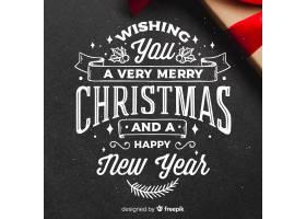 优雅的圣诞背景_3287584