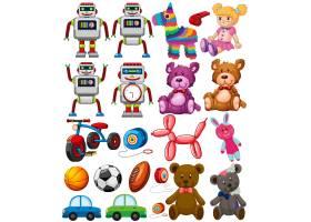 一套不同的玩具_4071388
