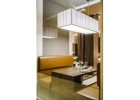 豪华酒店的餐桌_4692133