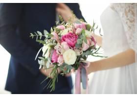 婚礼新娘和新郎_9283399