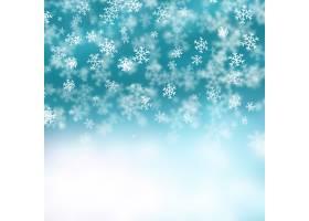雪花和星星的圣诞背景_957280