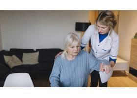 女性与护士的疗养院理念_2014476