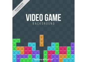 色彩斑斓的电子游戏背景_948158