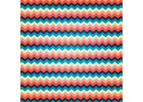 色彩鲜艳的之字形图案_2960358