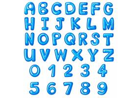英文字母和数字的字体设计_1250773