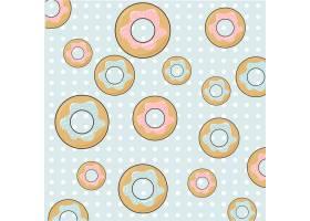 甜甜圈图案设计_1079603