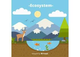 生态系统背景_2819133