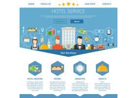 酒店服务页面设计_3834849