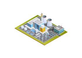 核电站等轴测图像_4188544
