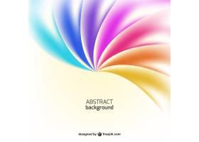 彩虹色调的抽象背景_773654