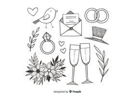 婚礼求婚概念_2967624