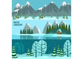冬季景观全景横幅_2870611