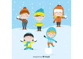 冬日儿童系列_3344391