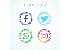 创意社交媒体偶像Facebook_2602094