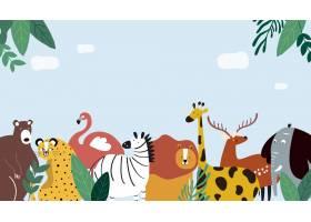 动物主题模板插图_3462541