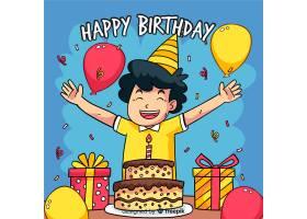 儿童生日背景_3755246