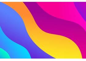 具有流体形状的抽象渐变背景_3350607