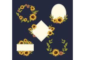 向日葵花环收藏_3748328