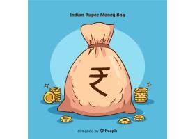 印度卢比钱袋_3536713
