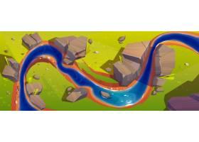 可俯瞰河景的景观_8792293