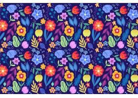 图案背景天衣无缝的漂亮花朵_5917731