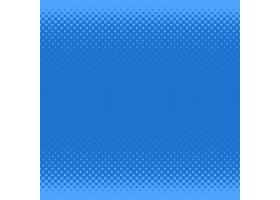 蓝色半色调网点图案背景来自不同大小的圆_1314298