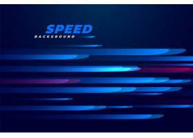 蓝色速度运动线背景_5071617