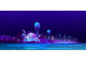 绿色生态城市替代清洁能源生态_4997675
