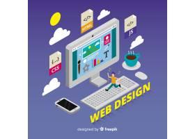 网页设计概念背景_3328518