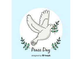 美丽的和平日背景_2796329