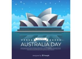 真实的澳大利亚日背景_3623559
