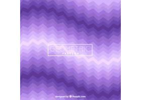 紫色几何形状的图案_1215479