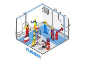 水管工等轴测人员构成_4017166