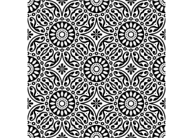 无缝图案复古装饰元素_9341269