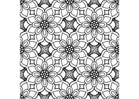 无缝图案复古装饰元素_9341288