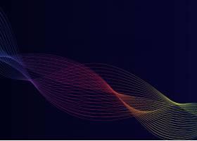 数据可视化动态波型矢量_3780560