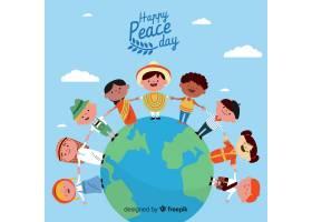 平面设计与儿童和平日_5297256