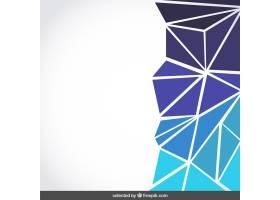 背景由蓝色三角形组成_802370