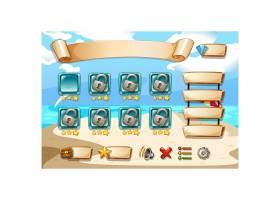 电子游戏屏幕设计_1077591