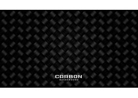 黑碳纤维图案纹理背景设计_8998440