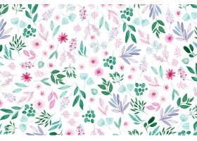 彩绘花卉壁纸_8111045