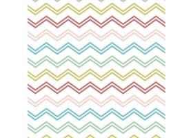 带有五颜六色之字形线条的图案_840253