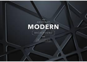 带有形状的黑色抽象现代背景_4810721