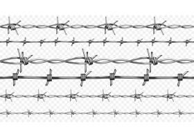 具有锐边的无缝逼真3D金属栅栏钢丝的带刺或_3266616