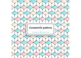 典雅的几何图案极简风格_1217940