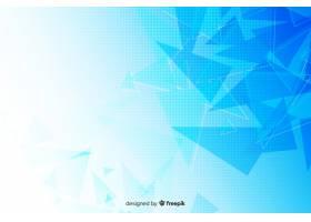 几何形状的抽象背景_5576327